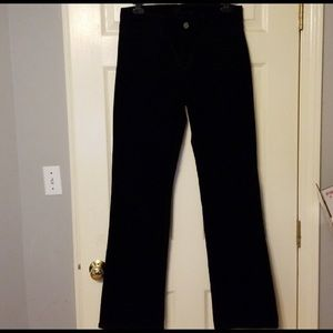 Kut from the Kloth Black corduroy size 8